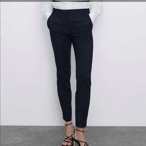 Zara Woman Navy Pants